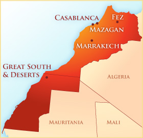 Exclusively Morocco What Works Best - Where is morocco